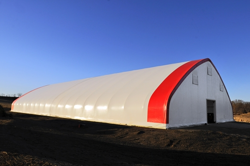 Recycling facilities can benefit from the use of fabric covered buildings. ,Recycling facilities can benefit from the use of fabric covered buildings.