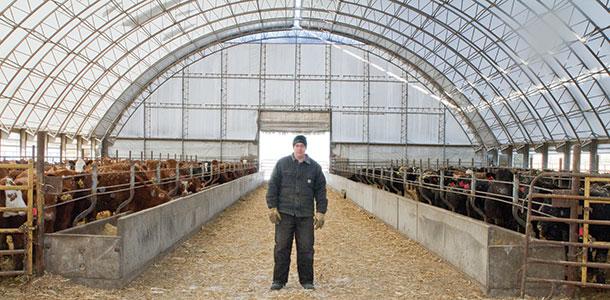 Winkler Structures Hoop Barn