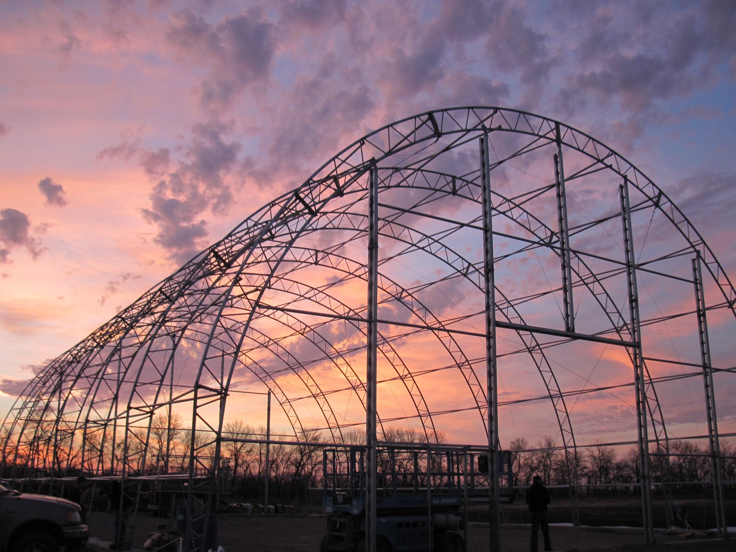 Fabric Structure Steel Frame