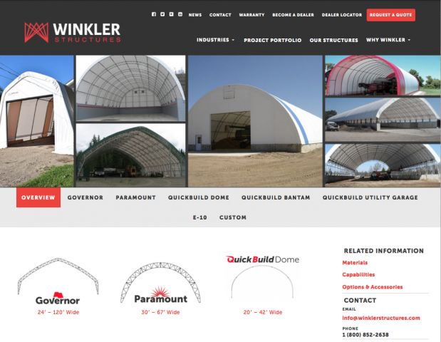 Winkler Structures website