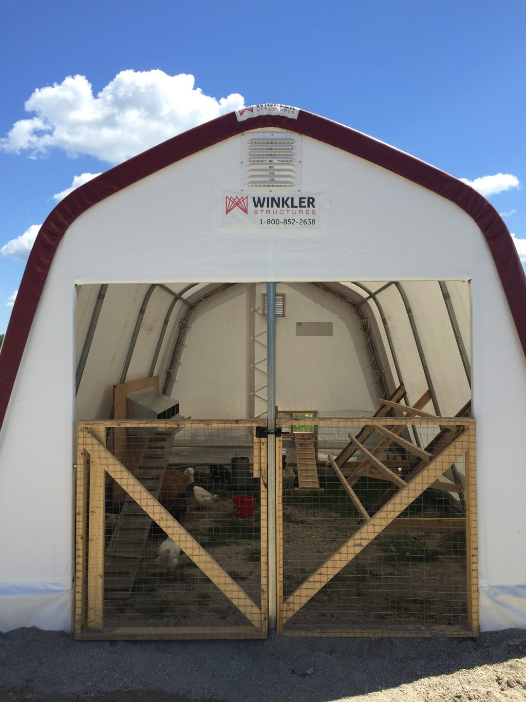 Winkler Structures Chicken Coop