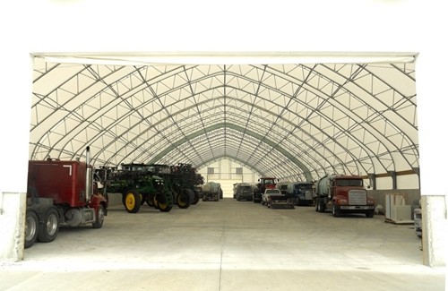 A fabric covered building can be customized to meet the needs of all farmers.
