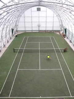 Winkler Structures can provide ideal tennis court facilities for the entire year.