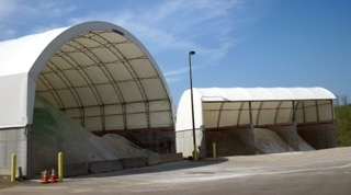 Winkler Structures provide a safe and environmentally responsible solution for salt and sand storage.