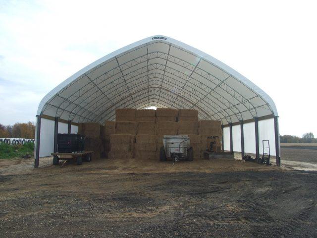 Winkler Structures Hay Storage