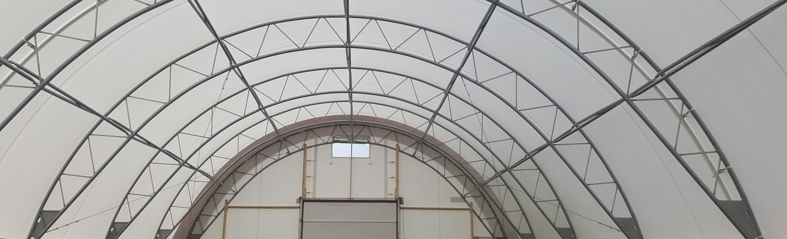 Fabric Structures for Sheep Housing