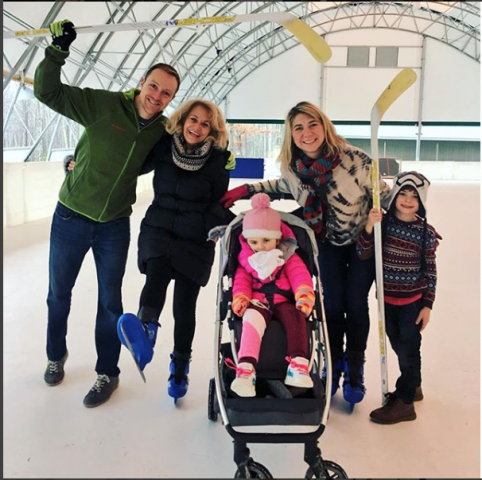 Winkler Structures skating rink