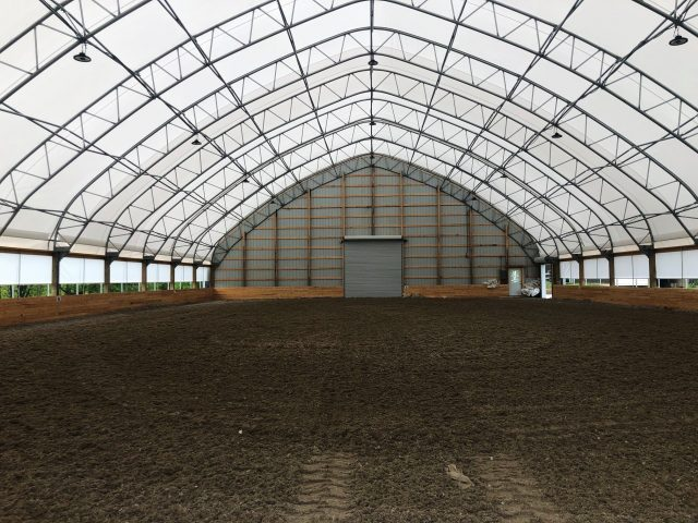 Winkler Structures riding arena