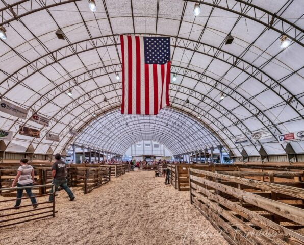 Winkler Structures at Rockingham County Fair
