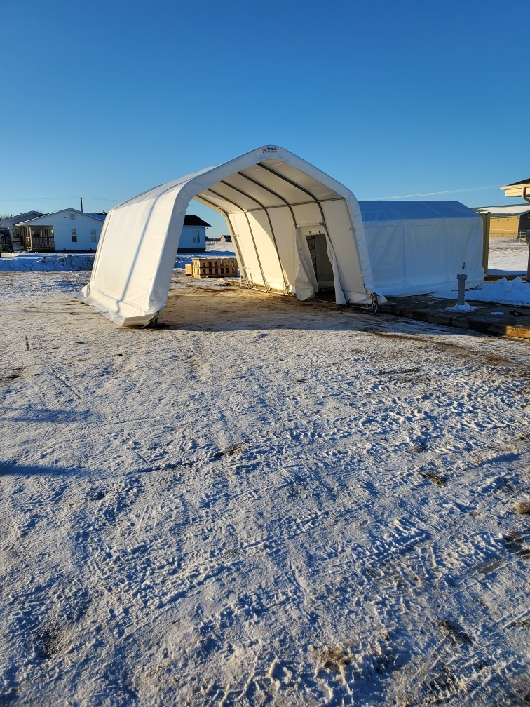 Covid testing shelter standard package
